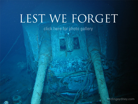 The Wreck of the HMAS Sydney II Photo Gallery